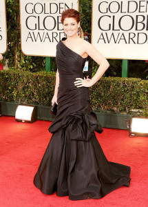 Actress Debra Messing On The Red Carpet