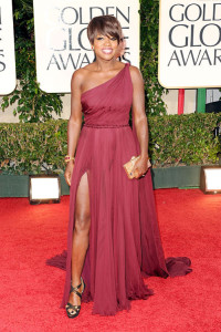 Actress Viola Davis On The Red Carpet
