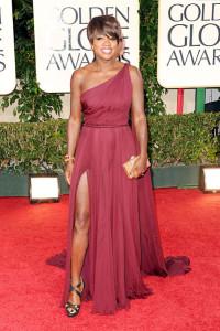 Actress Viola Davis On The Red Carpet
