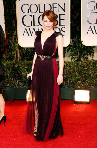Actress Emma Stone On The Red Carpet