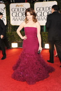 Actress Tina Fey On The Red Carpet