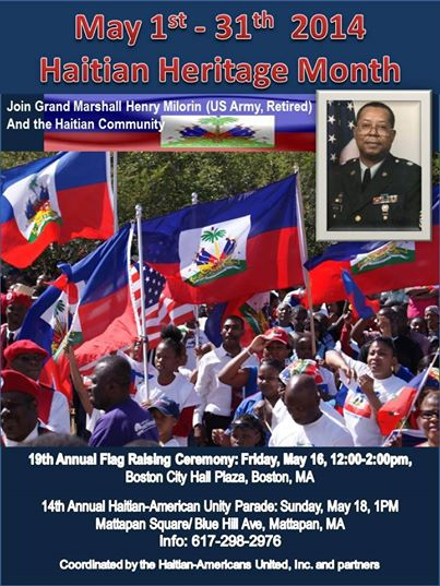 Boston Haitian Flag Day Events