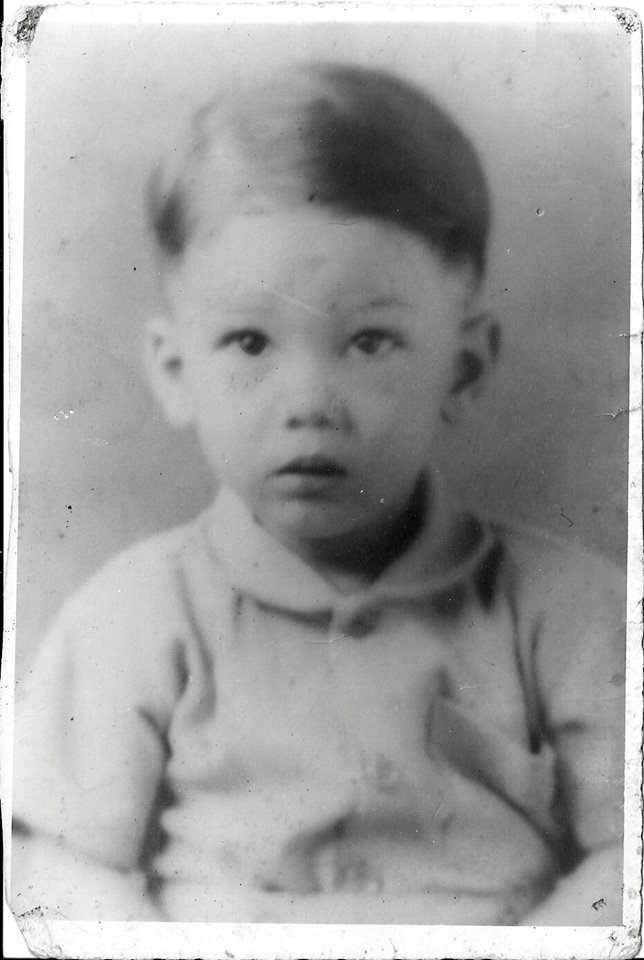 Sergo Wawa in a childhood photo. Courtesy Sergo and Simone Wawa.