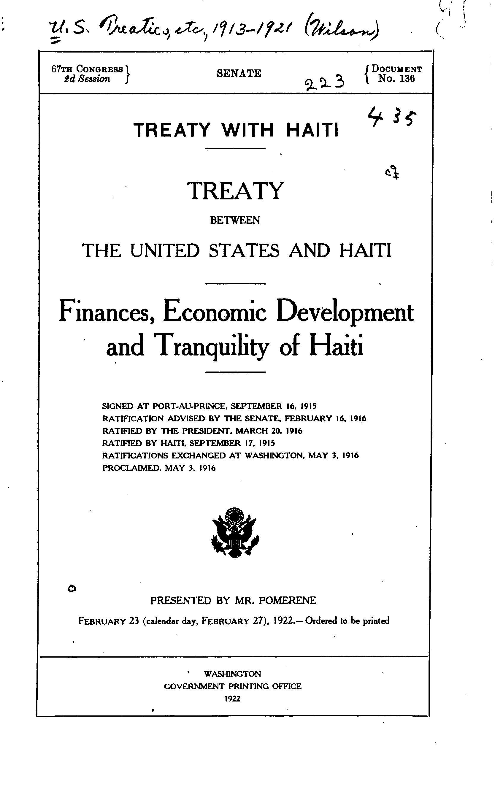 Haiti and Us