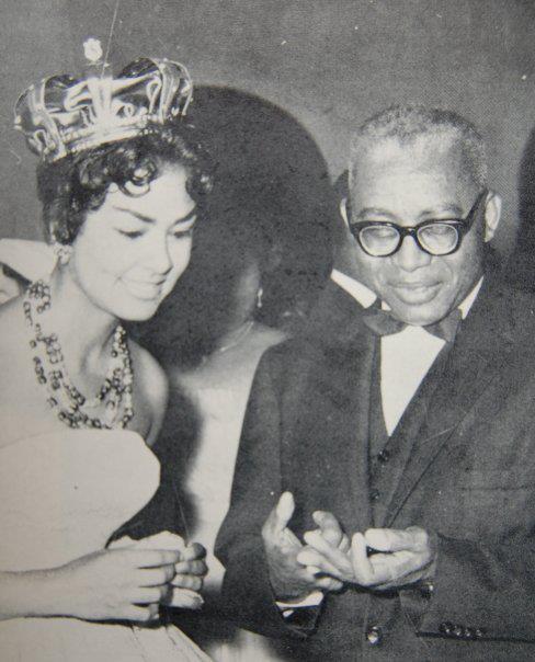 Jean Claude Duvalier et Claudinette Fouchard. She was Haitian Beauty Queen