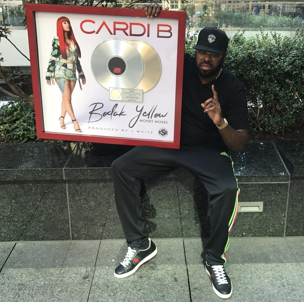 Cardi B's Haitian Manager & Atlantic VP Celebrate Making