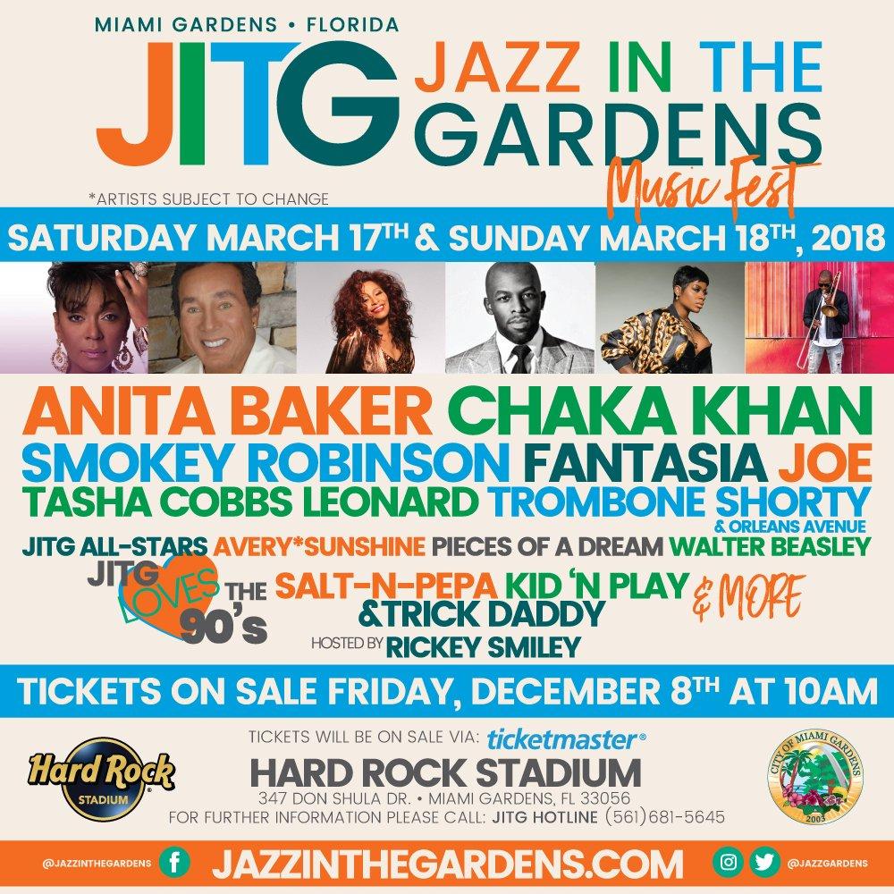 Jazz Gardens