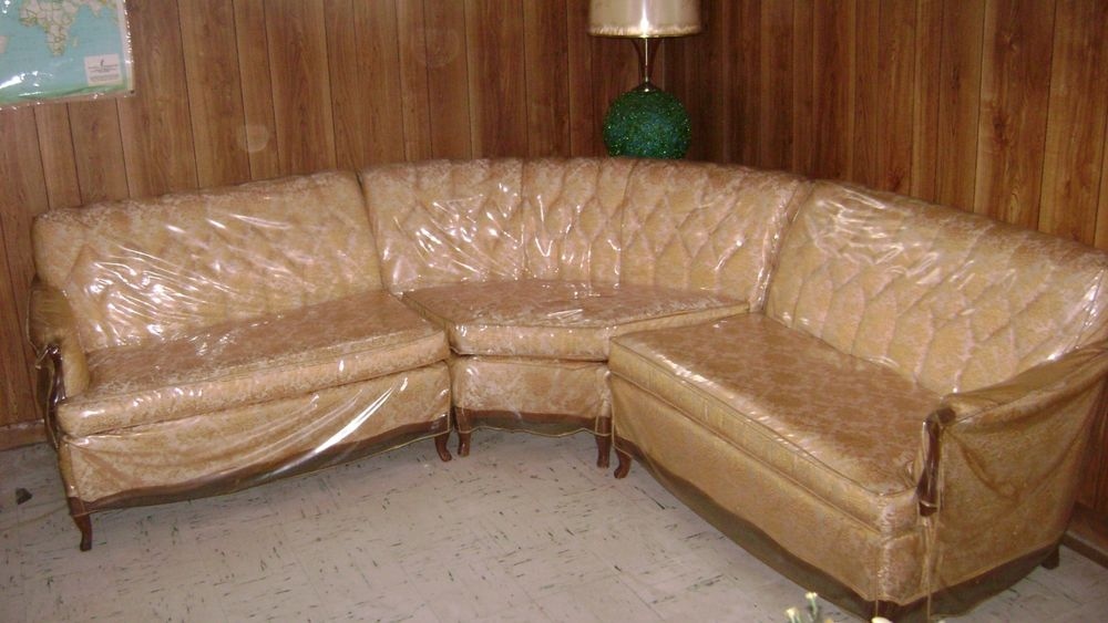 Plastic Covered Furniture L Union Suite