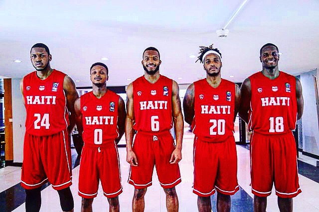 Haiti's Men National Basketball Team