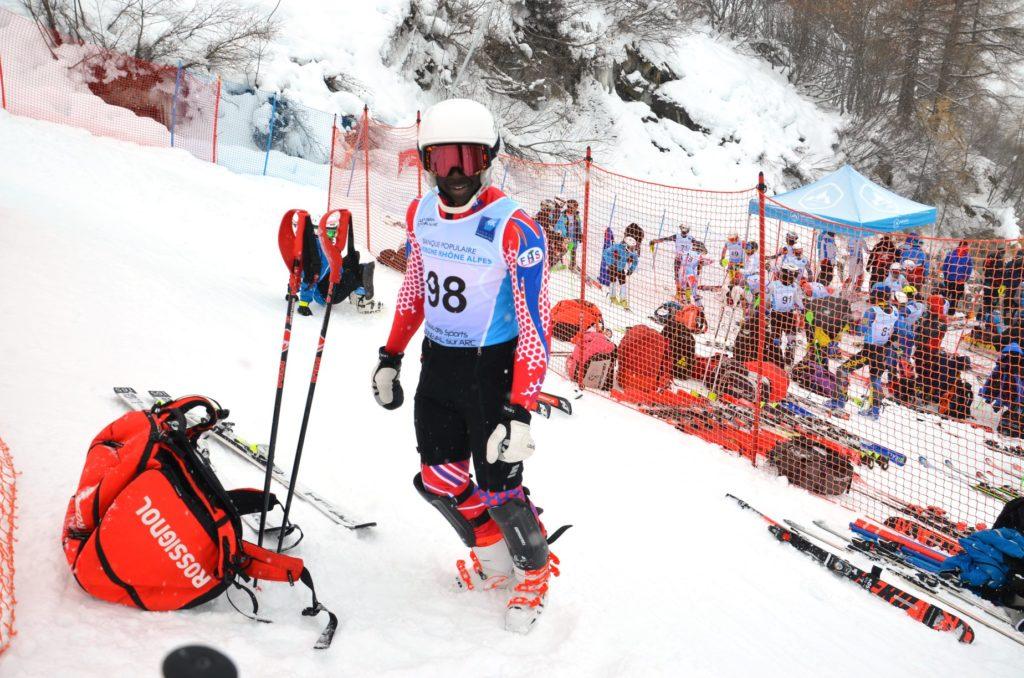 Alpine skiing - Mackenson Florindo